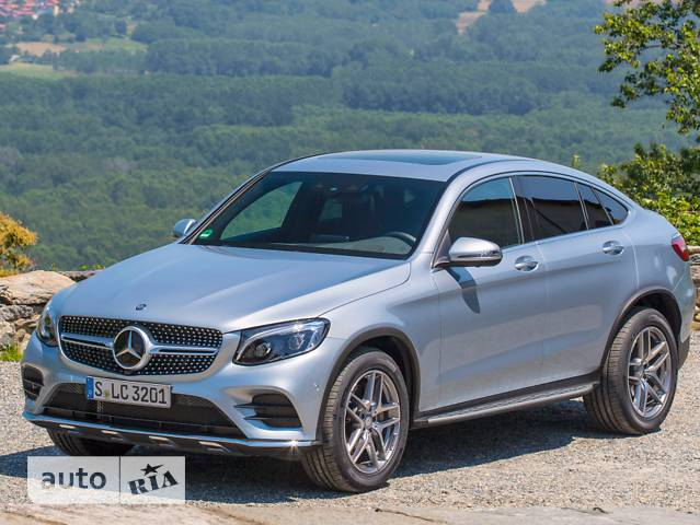 Mercedes-Benz GLC-Class GLC Coupe 300 AT (245 л.с.) 4Matic