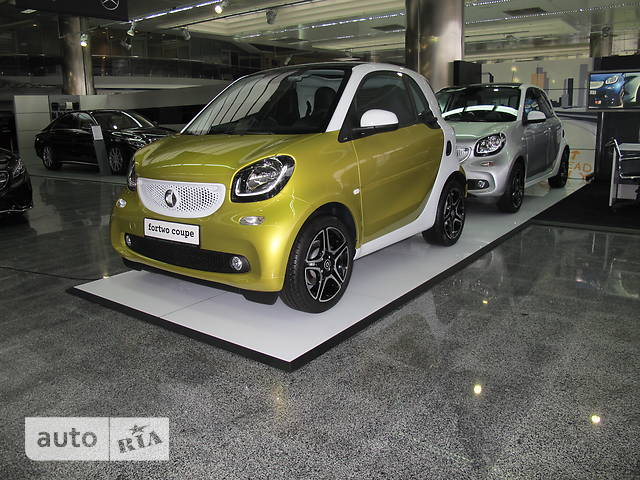 Smart Fortwo 0.9T AТ (90 л.с.) Passion