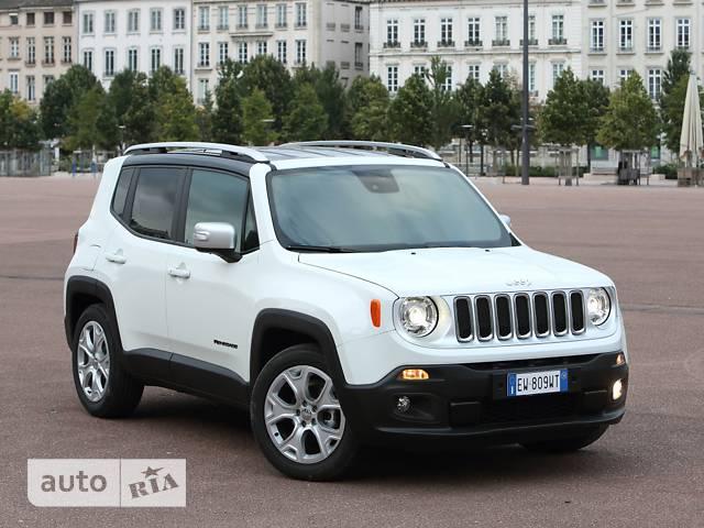 Jeep Renegade 1.4 АТ (160 л.с.)  Longitude