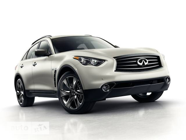 Infiniti QX70 3.7L AT (333 л.с.) Hi-tech (Black quartz)