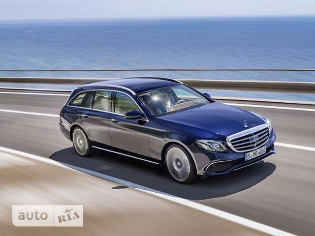 Mercedes-Benz E-Class E 220d AT (194 л.с)