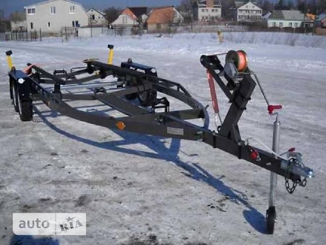 Прицеп Лодочный Двухосный для лодок до 6,3 м с торм.системой