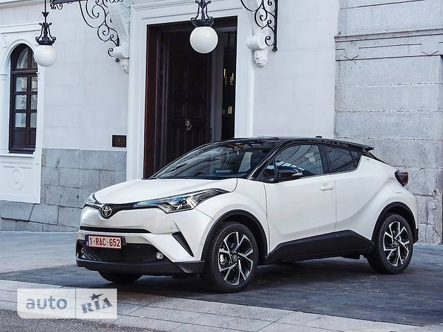 Toyota C-HR 1.8 AT (122 л.с.) Hybrid Active
