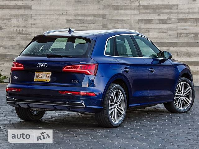 Audi Q5 New 2.0 TFSI S-tronic (252 л.с.) Quattro  S-line