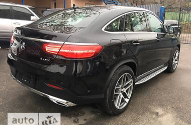 Mercedes-Benz GLE-Class GLE Coupe 350d AT (258 л.с.) 4Matic  2017