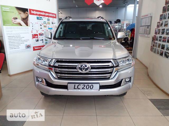 Toyota Land Cruiser 200 4.5D AT (249 л.с.) Elegance