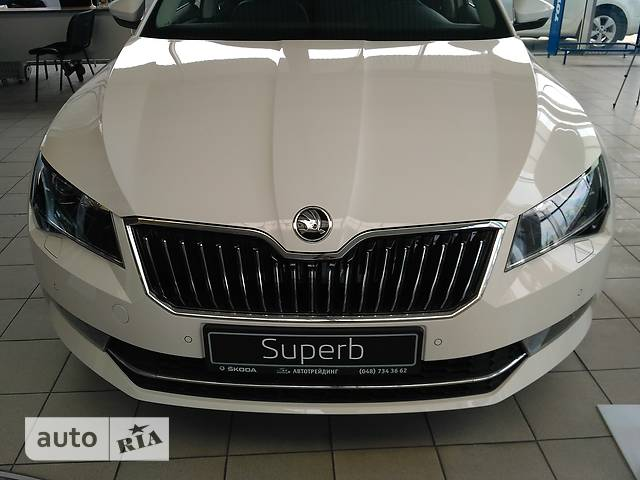 Skoda Superb New 2.0 TDI АT (190 л.с.) 4х4 L&K