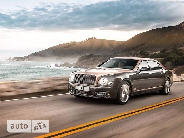 Bentley Mulsanne 6.8 AT (505 л.с.) Extra Long
