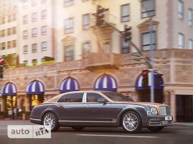 Bentley Mulsanne 6.8 AT (505 л.с.) Extra Long