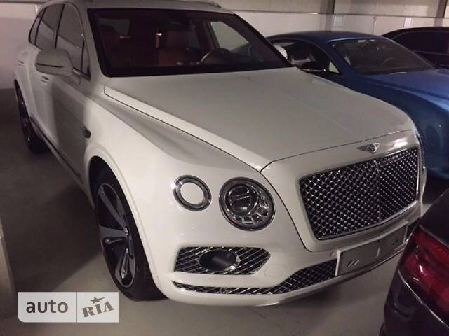 Bentley Bentayga 6.0 АТ (608 л.с.) First Edition