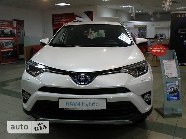 Toyota Rav 4 2.5 E-CVT Hybrid (197 л.с.) E-AWD Passion