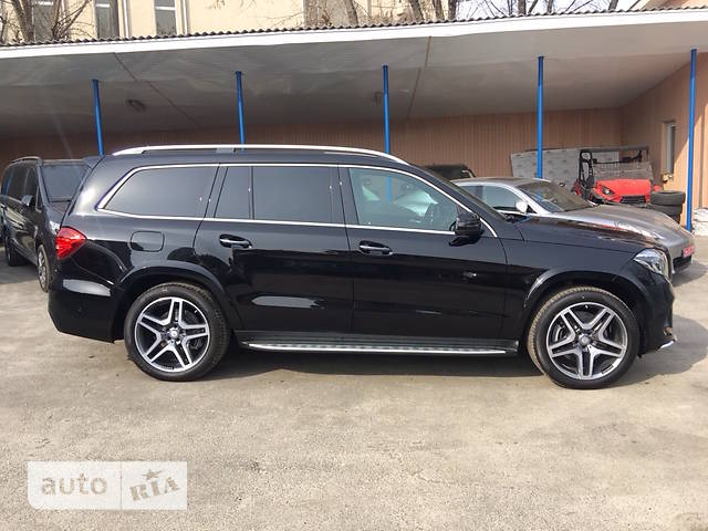 Mercedes-Benz GLS-Class GLS 350 AT (258 л.с.)  4Matic