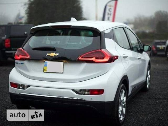 Chevrolet Bolt EV EV AT (204 л.с.) LT