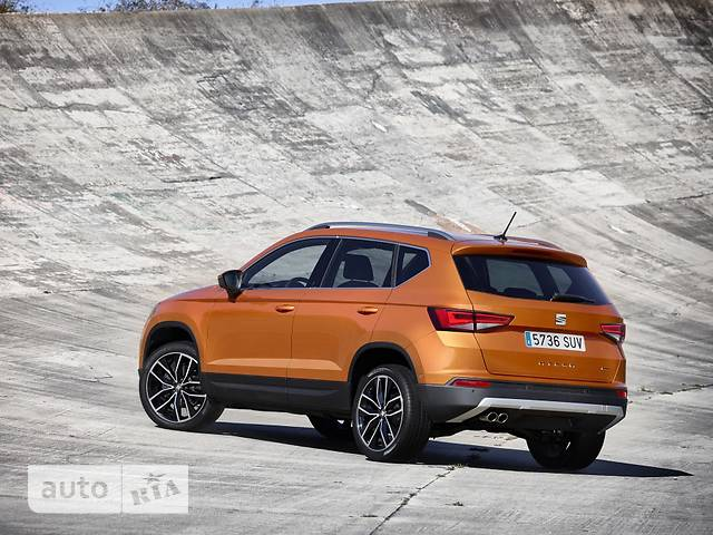 Seat Ateca 2.0 TSI AT (190 л.с.) Start/Stop 4Drive Xcellence