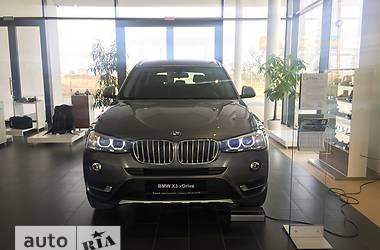 BMW X3 F25 20d AT (190 л.с.) xDrive  2017
