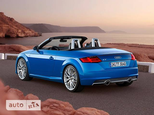 Audi TT 2.0 TFSI S-tronic (230 л.с.) Quattro