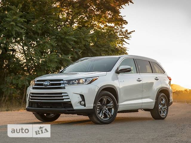 Toyota Highlander 3.5 AT (295 л.с.) AWD Limited