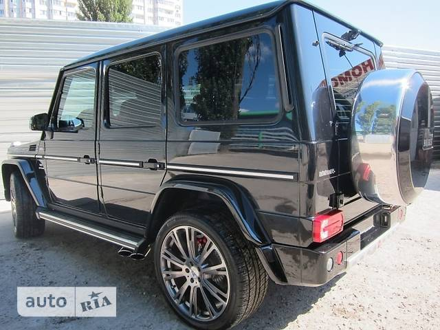 Mercedes-Benz G-Class Brabus G 63 AT (620 л.с.)