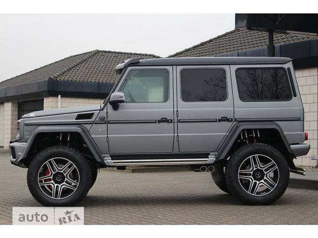 Mercedes-Benz G-Class G 500 AT (421 л.с.) 4x4²