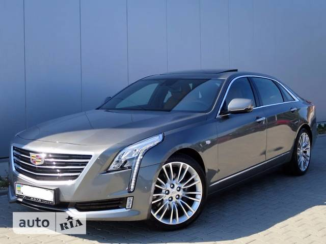 Cadillac CT6  3.0 Twin Turbo  (404 к.с.) AWD Luxury