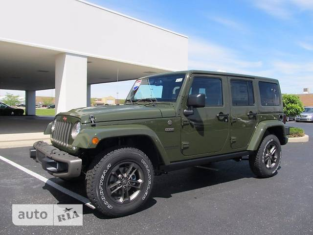 Jeep Wrangler 5D 3.6 AT (285 л.с.) AWD Unlimited Rubicon