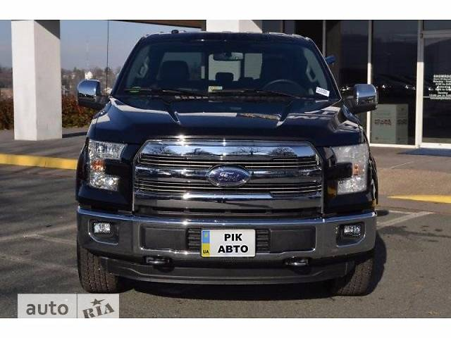 Ford F-150 5.0L AT (385 л.с.) SuperCrew AWD Lariat