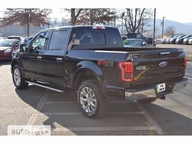Ford F-150 5.0L AT (385 л.с.) SuperCrew AWD Lariat