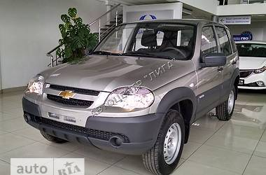 Chevrolet Niva 1.7 MT (80 л.с.) LC 2017