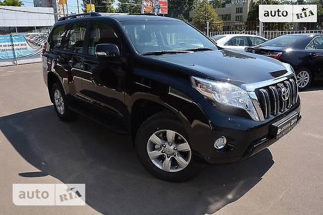 Toyota Land Cruiser Prado 2.7L AT (163 л.с.) 7s Elegance