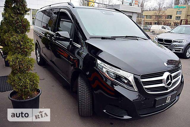 Mercedes-Benz V-Class V 250d AT (190 л.с.) 4Matic Exclusive
