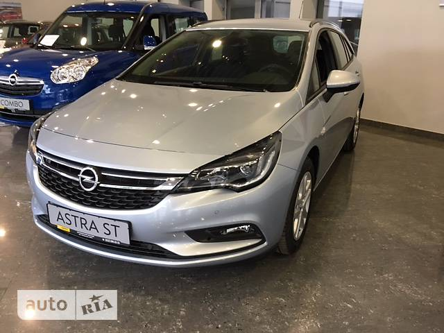 Opel Astra K 1.6D MT (95 л.с.) Enjoy