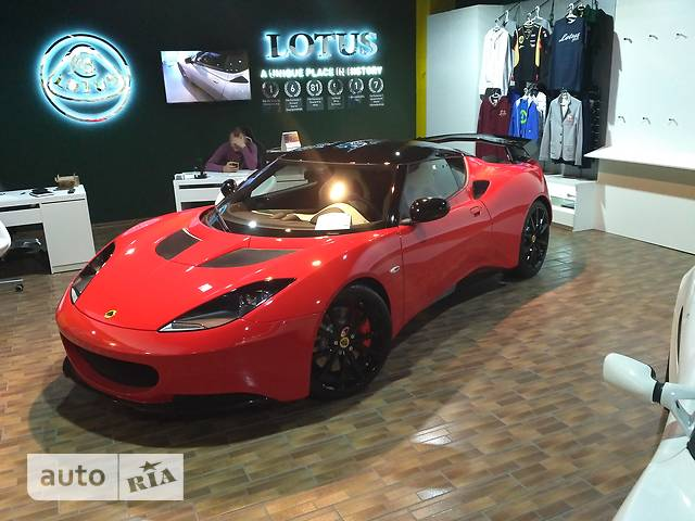 Lotus Evora S 3.5 AT (345 л.с.)