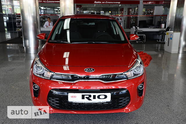 Kia Rio FL 1.4 АТ (109 л.с.) Prestige