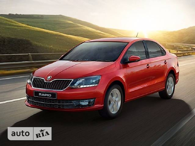 Skoda Rapid New 1.6 MT (110 л.с) Style