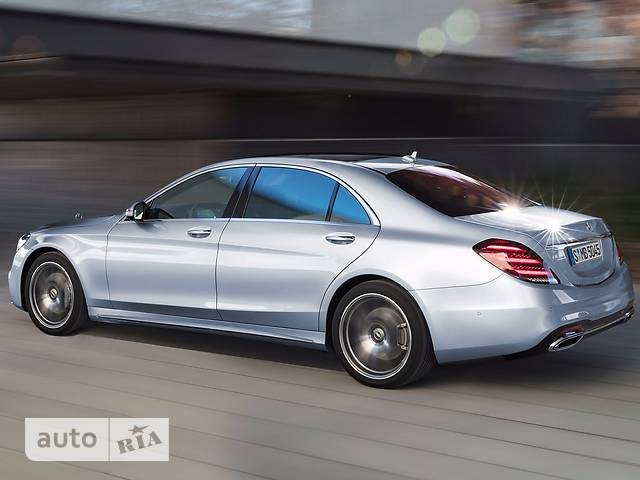 Mercedes-Benz S-Class S 350d AT (286 л.с.)
