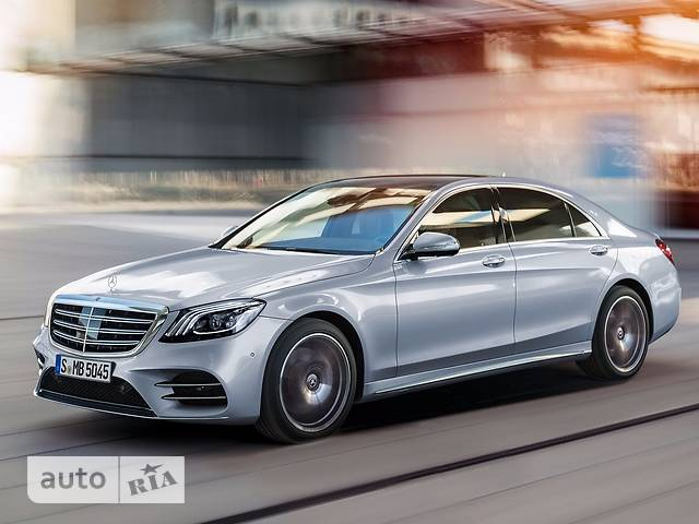 Mercedes-Benz S-Class S 450 AT (367 л.с.) 4Matic Long