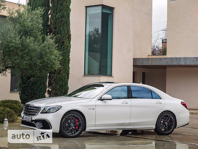 Mercedes-Benz S-Class Mercedes-AMG S 63 AT (612 л.с.) 4Matic Long