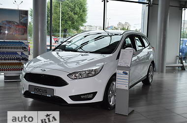 Ford Focus 1.0 Ecoboost turbo  MT (125 л.с.) Business 2017