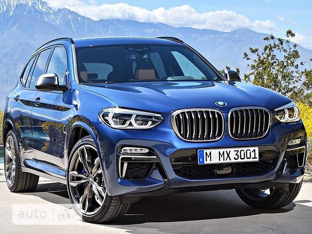 BMW X3 G01 20i AT (184 л.с.) sDrive base