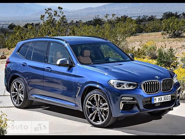 BMW X3 G01 M40d AT (326 л.с.) xDrive base