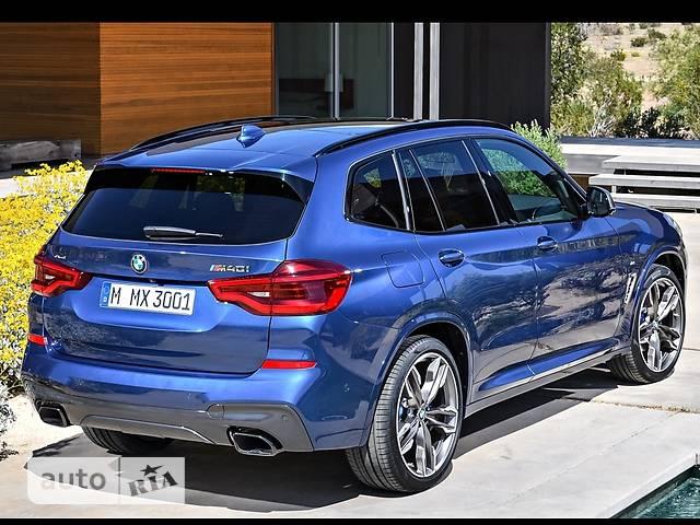 BMW X3 G01 25d AT (211 л.с.) xDrive base