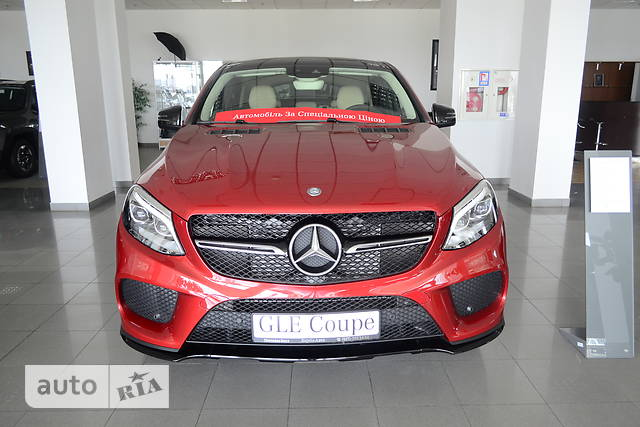 Mercedes-Benz GLE-Class GLE Coupe 350d AT (258 л.с.) 4Matic