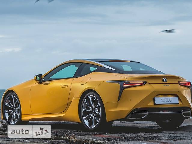 Lexus LC 500h CVT (359 л.с.) Yellow Edition