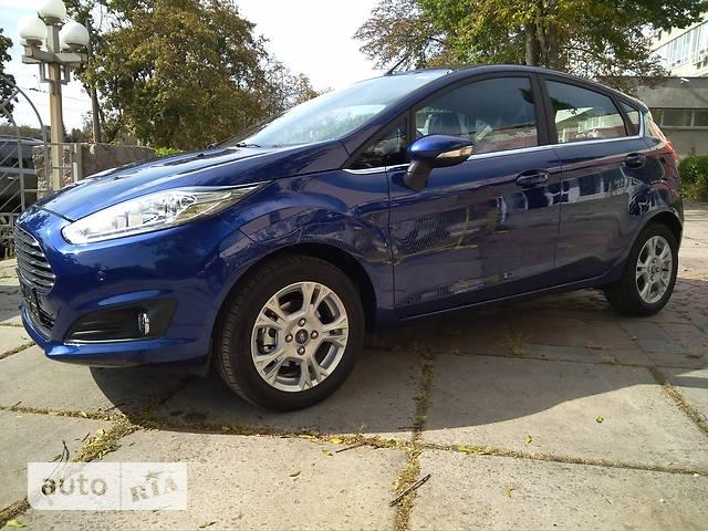Ford Fiesta 1.6 АT (105 л.с.) Comfort +