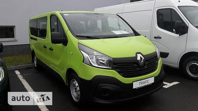 Renault Trafic пасс. 1.6D MT (115 л.с.) L2H1 Combi