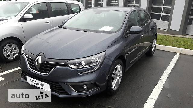Renault Megane New 1.5D AТ (110 л.с.) Zen