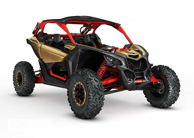 BRP Maverick X3 Xrs turbo R Liquid Gold