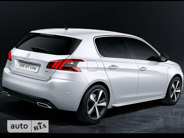 Peugeot 308 New 1.6 BlueHdi АТ (120 л.с.) Start/Stop GT-Line