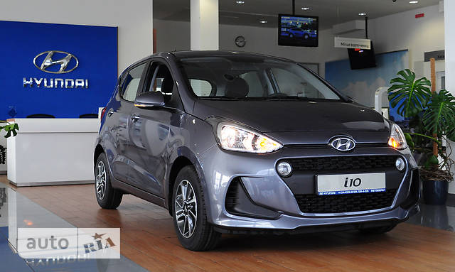 Hyundai i10 1.25 АT (87 л.с.) Prestige