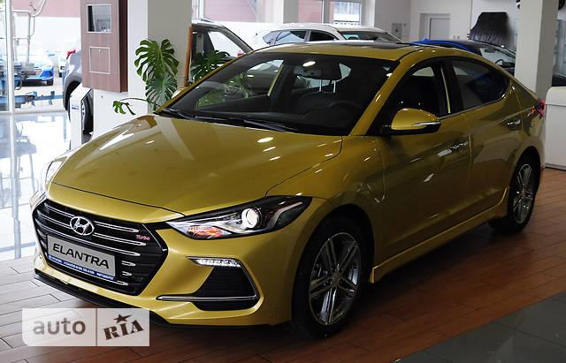 Hyundai Elantra AD 1.6T DCT (200 л.с.) Sport